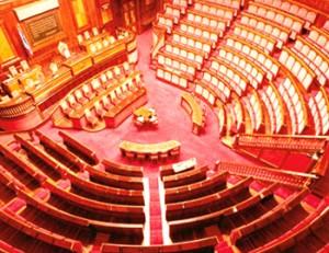 Aula del Senato Italiano