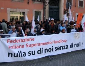 Manifestazione indetta dalla Fish il 15 novembre 2005