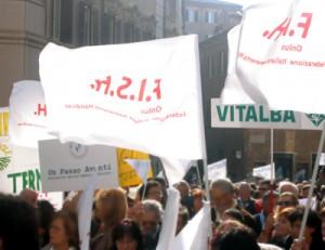 Immagine da una Manifestazione organizzata dalla Fish