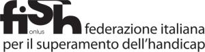 Logo FISH in bianco e nero