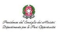 Logo Dipartimento per le Pari Opportunità