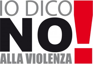 """Logo """"Io dico no alla violenza!"""""""