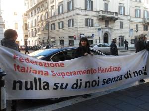 Sit-in Roma 18 gennaio 2011