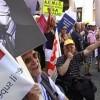 Indignati in piazza contro i tagli al sociale