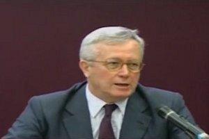 Il Ministro dell'Economia Giulio Tremonti
