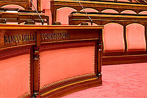 Banco delle Commissioni - Senato