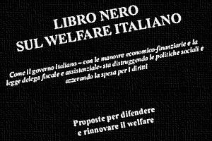 Libro nero sul welfare italiano