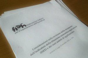 il documento sull'ISEE inviato al Ministro Elsa Fornero e al Sottosegretario Cecilia Guerra