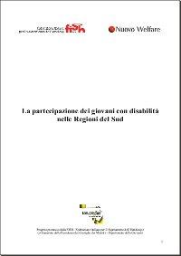 La partecipazione dei giovani con disabilità nelle Regioni del Sud