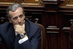 Il Ministro dell'Economia Vittorio Grilli