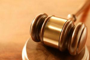 Martello in legno del giudice