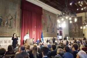 Un momento dell'incontro a Palazzo Montecitorio