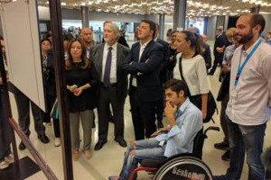 Renzi e Poletti alla Conferenza Nazionale sulle Politiche della Disabilità