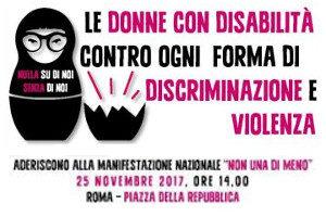 Le donne con disabilità contro ogni discriminazione e violenza