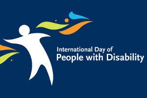 Logo Giornata internazionale delle Persone con Disabilità