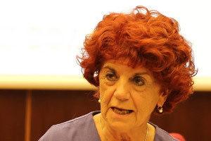 La Ministra dell'Istruzione, dell'Università e della Ricerca Valeria Fedeli