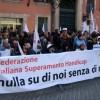 A piazza Monte Citorio la protesta dei disabili