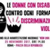 Ragazze e donne con disabilità, in piazza contro ogni discriminazione e violenza