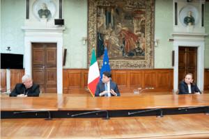 Firma del Protocollo CEI-Governo italiano
